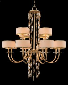 Counterpoint Twelve-Light Chandelier