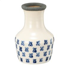 Cascade Vase,Cream