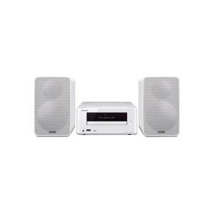 OnkyoColibrino CD Hi-Fi Mini System with Bluetooth (White)