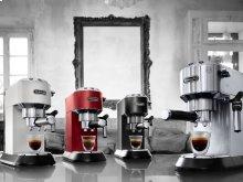 Dedica DeLuxe Manual Espresso Machine, Cappuccino Maker - EC685W - White