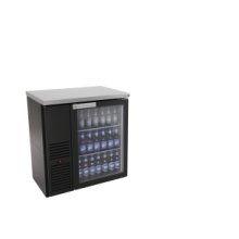 Back bar - Black finish