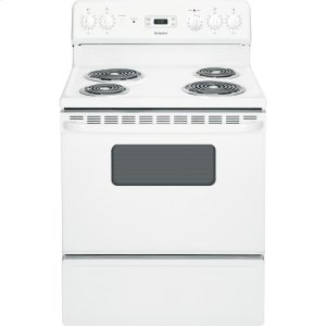 "HOTPOINTHotpoint(R) 30"" Free-Standing Electric Range"