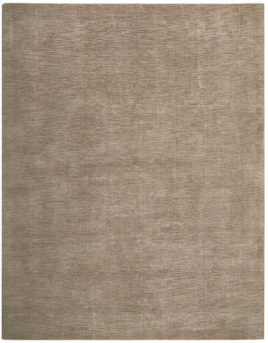 Christopher Guy Mohair Collection Cgm01 Taupe Rectangle Rug 10' X 14'
