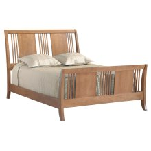 American Expressions Queen Spindle Sleigh Bed