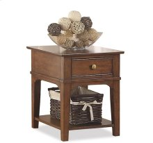 Side Table Rutledge Burnished Oak finish