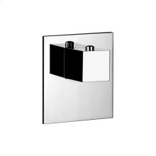 """TRIM PARTS ONLY External parts for individual thermostatic mixer High capacity 3/4"""" connections Vertical/Horizontal application Anti-scalding Requires in-wall rough valve 39681"""