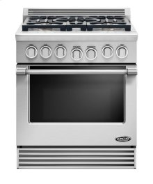 "30"" dual fuel Range 5 burner LP"