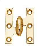 """2.0"""" X 1.5"""" Left Hand Olive Knuckle Cabinet Hinges Product Image"""