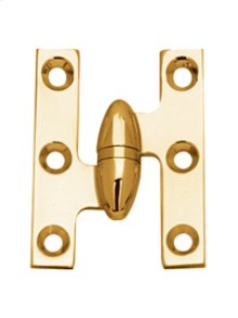 "2.0"" X 1.5"" Right Hand Olive Knuckle Cabinet Hinges"