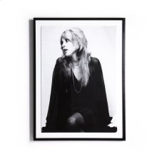 "18""x24"" Size Paper + Black Maple Frame Style Stevie Nicks"