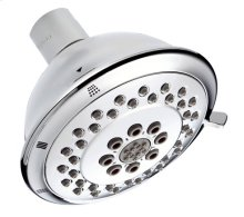 "Chrome 4"" Three-Function Showerhead"