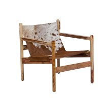 Genoa Cowhide Sling Chair SLGC30