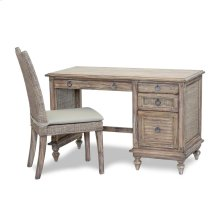Desk & Chair Set with Cushion