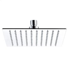 "Mountain Re-Vive - 8"" Square Rain Head - Brushed Nickel"