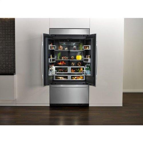 42-Inch Built-In French Door Refrigerator