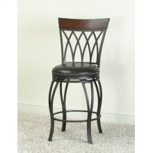 "CR-J3009  24"" Highback Swivel Counter Stool"