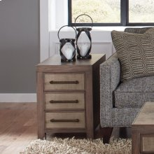 Mirabelle - Chairside Table - Ecru Finish