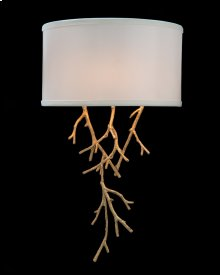 Prana: Spiked Branch Single-Light Sconce