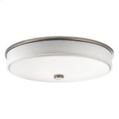 "Ceiling Space Collection 17.25"" LED Flush Mount NI"
