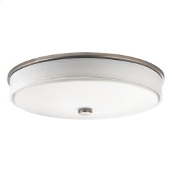 """Ceiling Space Collection 17.25"""" LED Flush Mount NI"""