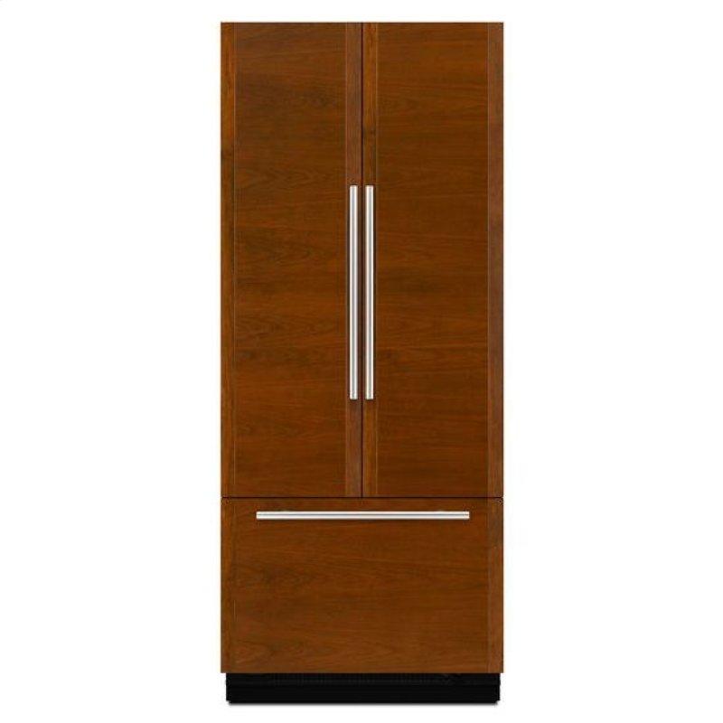 Hidden Additional 36 Inch Built In French Door Refrigerator