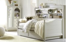 Inspirations by Wendy Bellissimo - Morning Mist Westport Bookcase Daybed