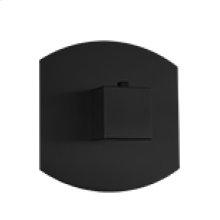 """3/4"""" Thermostatic Valve SQU + SAFIRE - Black"""