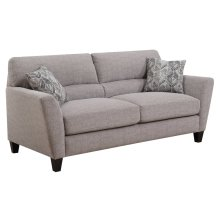 Emerald Home Speakeasy Sofa W/2 Pillows Speckled Brown U3207-00-25