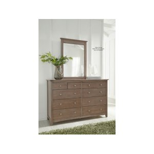 JOHN THOMAS FURNITURE10-Drawer Dresser in Taupe Gray