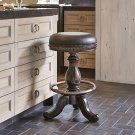 Davis Swivel Barstool - Dark Product Image