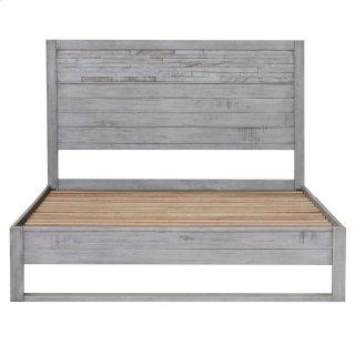 Callisto Queen Bed Set, Weathered Gray
