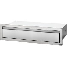 "42"" X 8"" Extra Large Single Drawer , Stainless Steel"