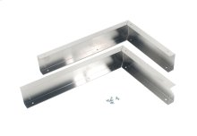 Microwave Hood Panel Kit - Stainless Steel