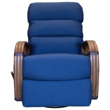 Recliner Glider, Fully Upholstered.