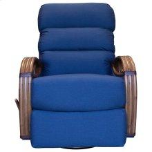 Recliner Glider, Fully Upholstered.