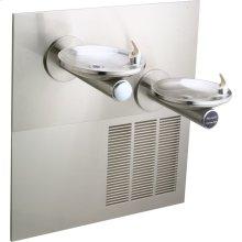 Elkay SwirlFlo Fountain Bi-Level ADA Hands-Free Non-Filtered, 8 GPH Stainless