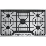 Professional 36'' Gas Cooktop with Griddle