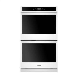 WhirlpoolWhirlpool(r) 10.0 Cu. Ft. Smart Double Wall Oven With True Convection Cooking - White