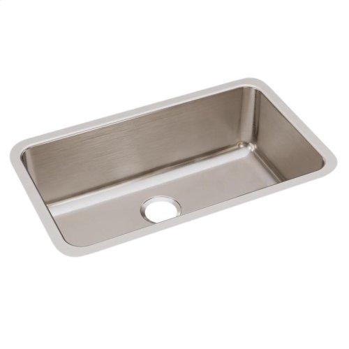 "Elkay Lustertone Classic Stainless Steel 30-1/2"" x 18-1/2"" x 10"", Single Bowl Undermount Sink"