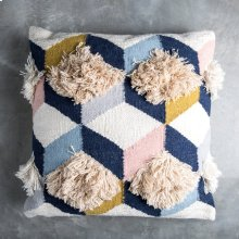 Brant Pillow - Navy Pink