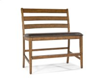 Santa Clara Ladder Back Counter Bench Product Image