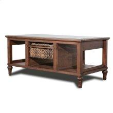 1-Basket Coffee Table
