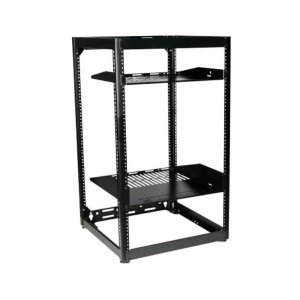 "Sanus35"" Tall AV Rack 20U Stackable Skeleton Rack"