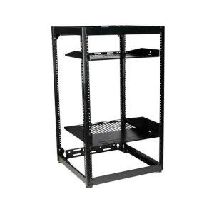 """Sanus35"""" Tall AV Rack 20U Stackable Skeleton Rack"""