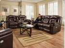 Avatar Double Reclining Sofa with Power Headrest Product Image