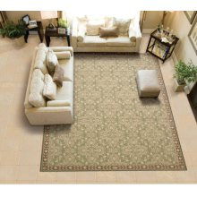 Riviera Ri01 Gre Rectangle Rug 27'' X 18''