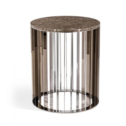 Greer Side Table - Italian Grey