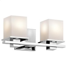 Tully Collection Tully 2 light Bath Light - Chrome CH