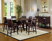Nottingham 5pc Counter Height Dining With Bench Product Image
