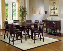 Nottingham 5pc Counter Height Dining With Bench